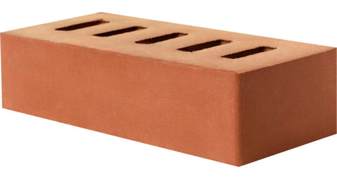 Кирпич строительный полнотелый 250*120*65 М-200 1НФ Пу 4%